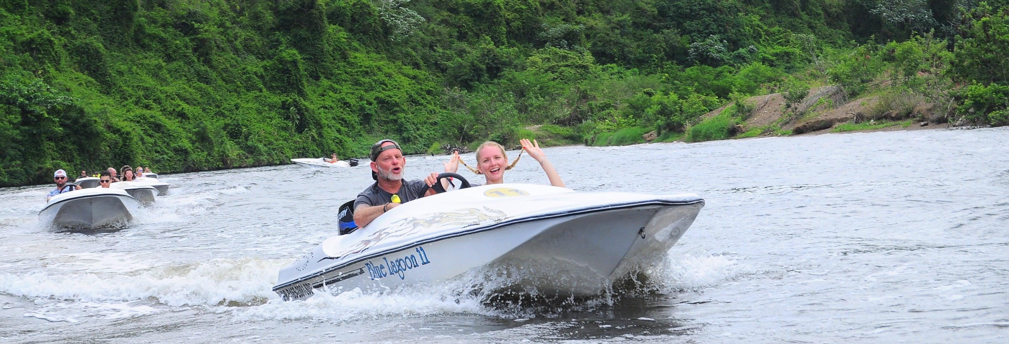 Pilotar lancha pelo rio Chavón