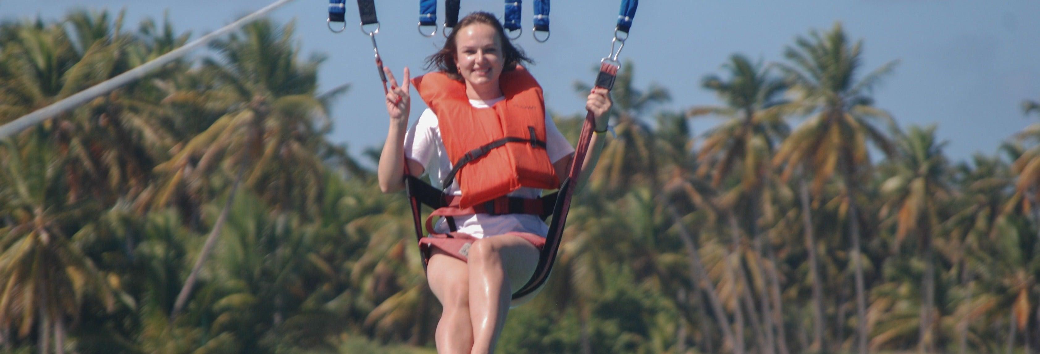Parasailing en Punta Cana