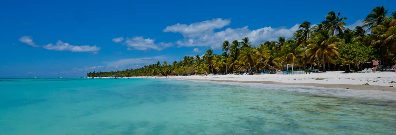 Escursione privata all'isola di Saona in barca