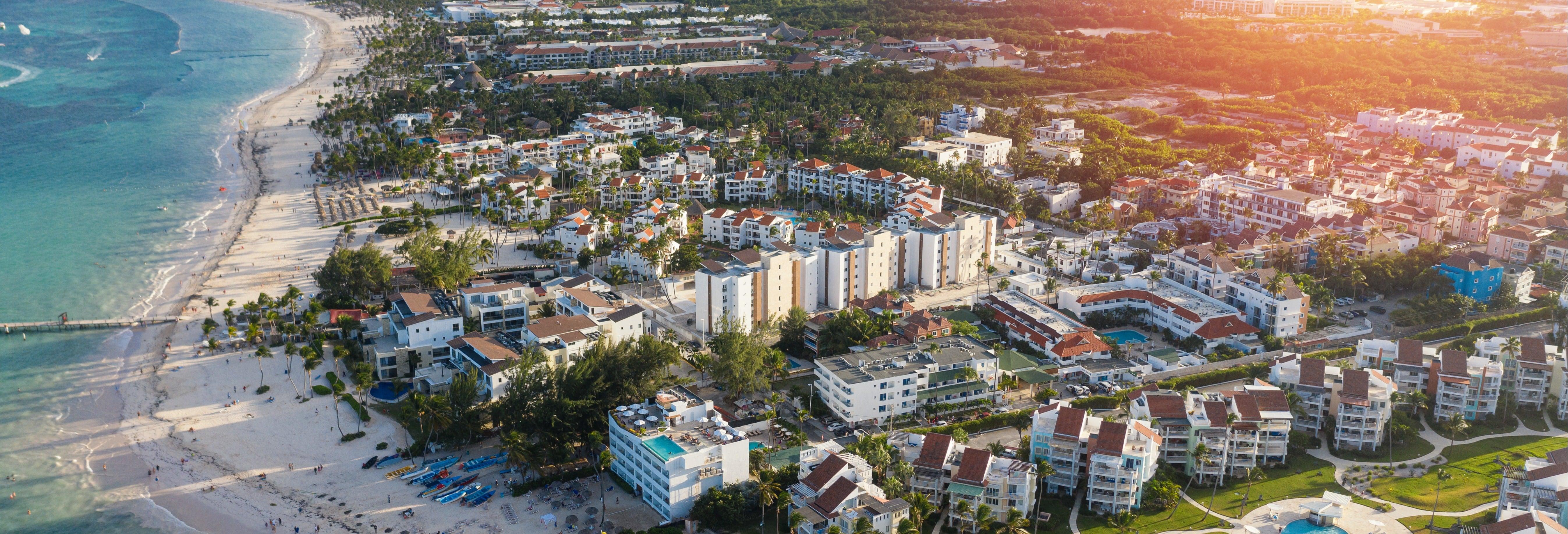 Vol en hélicoptère à Punta Cana