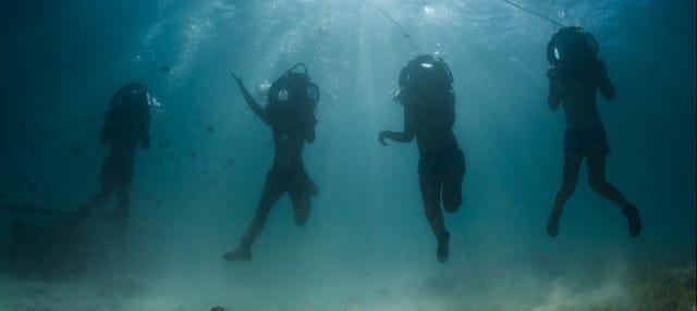 Scooter submarina en Punta Cana