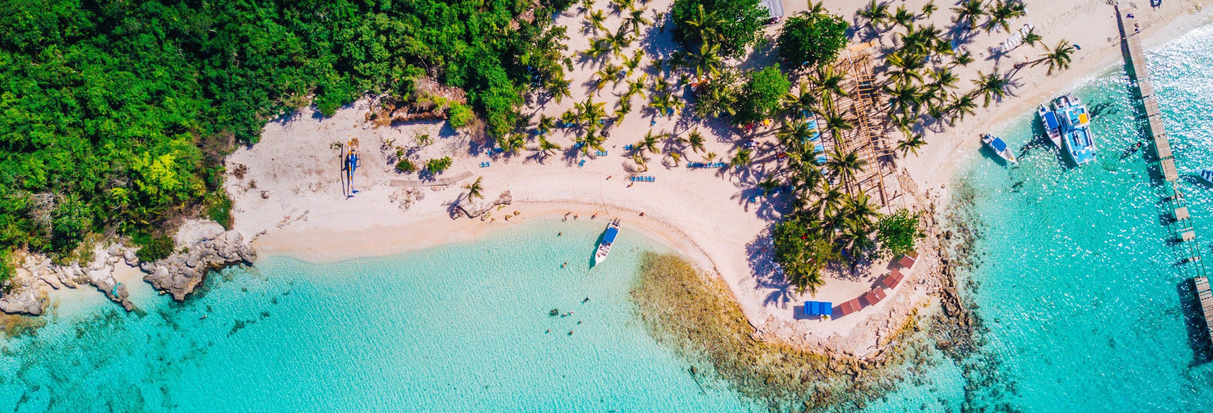 Tour por las playas de Isla Saona