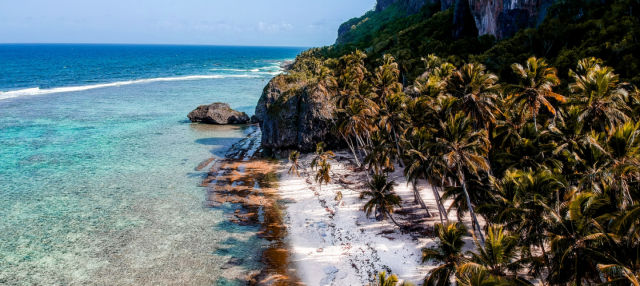 Balade en bateau à moteur le long des plages de Samaná