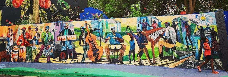 Tour de los murales de Los Pepines