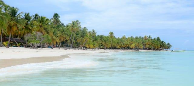 Excursión a Isla Saona en catamarán