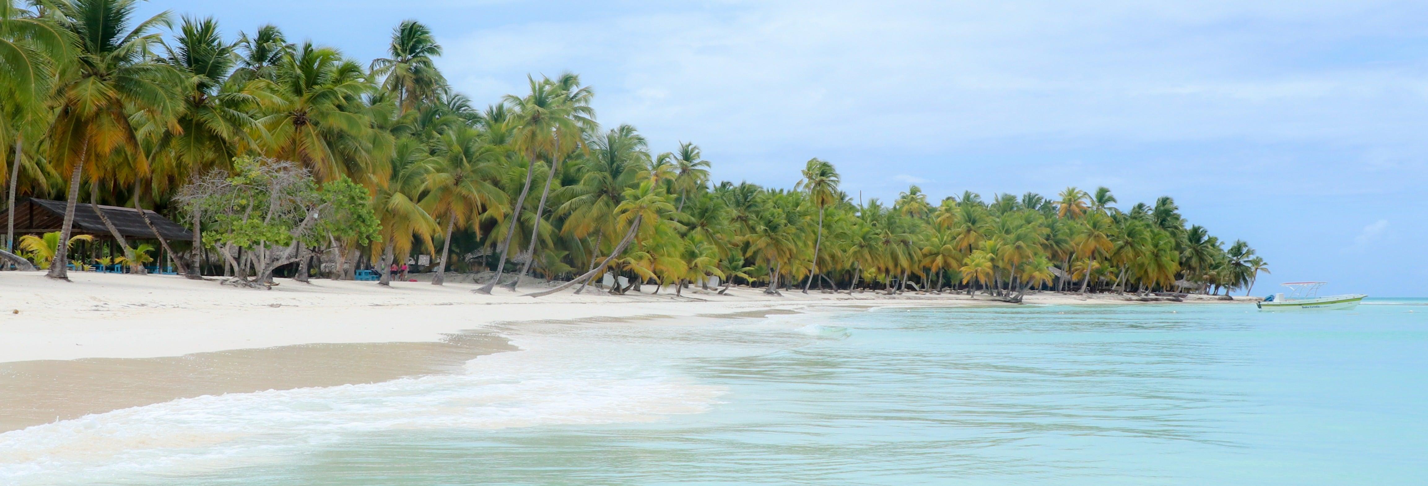 Escursione all'isola di Saona in catamarano