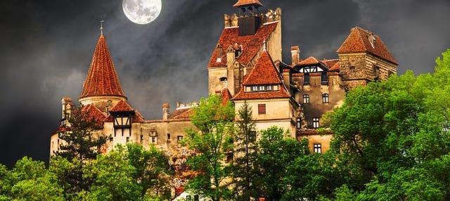 Fiesta de Halloween en el castillo de Drácula