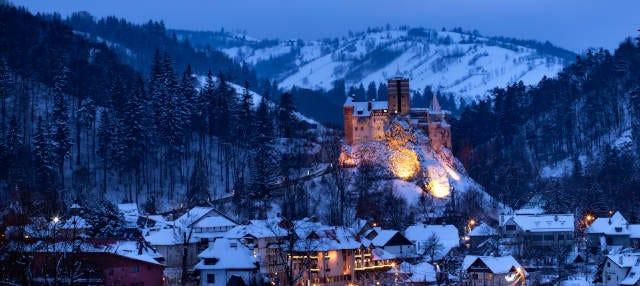 Tour nocturno privado por el castillo de Bran