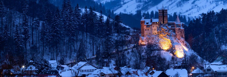 Tour nocturno por el castillo de Bran