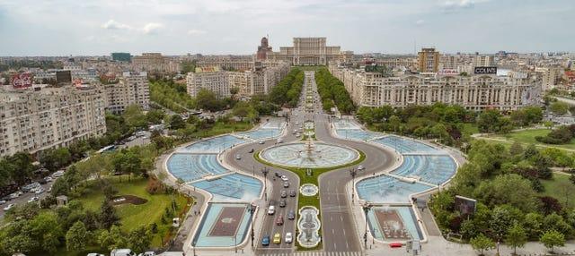 Free tour dans Bucarest