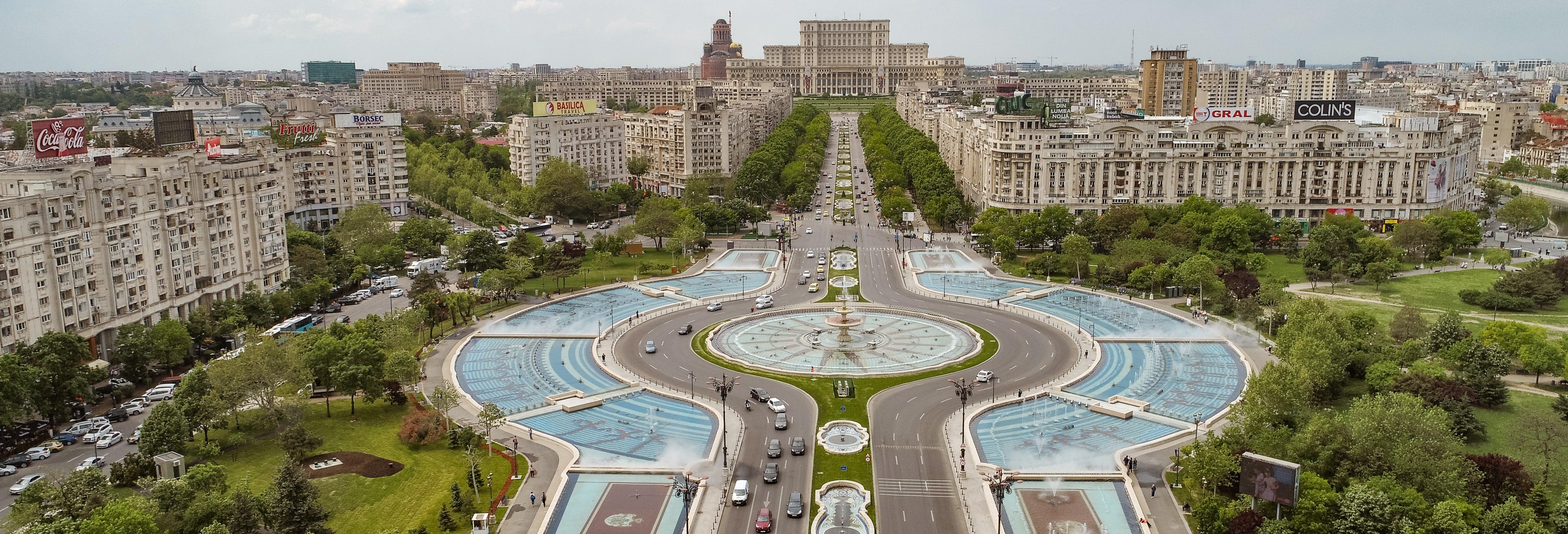 Free tour dans Bucarest. C'est gratuit !