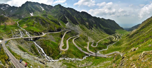 Ruta por la carretera de Transfagarasan