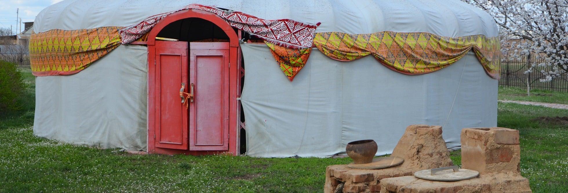 Excursión privada a una aldea kazaja