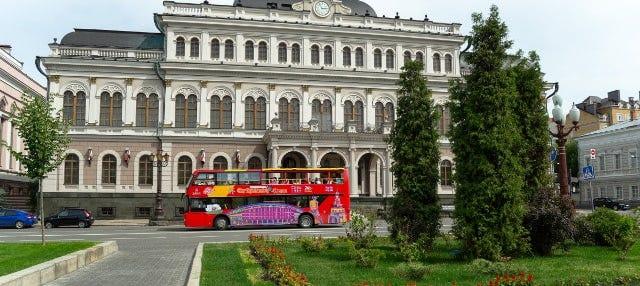 Autobús turístico de Kazán