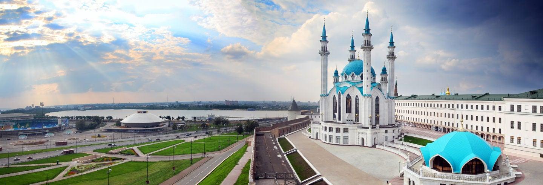 Visita guiada pelo Kremlin de Kazan