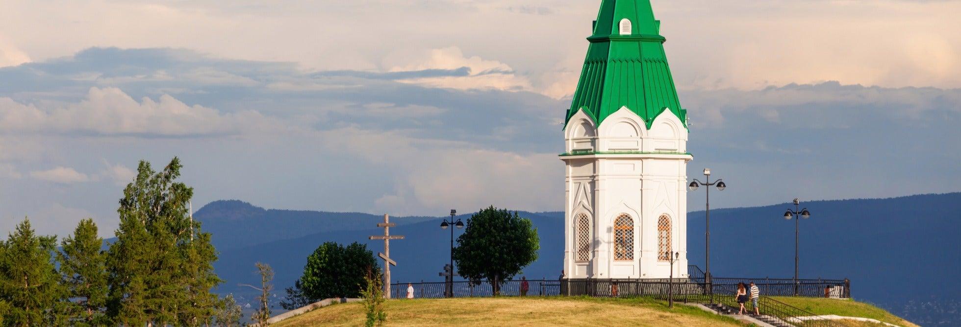 Visita guiada privada por Krasnoyarsk