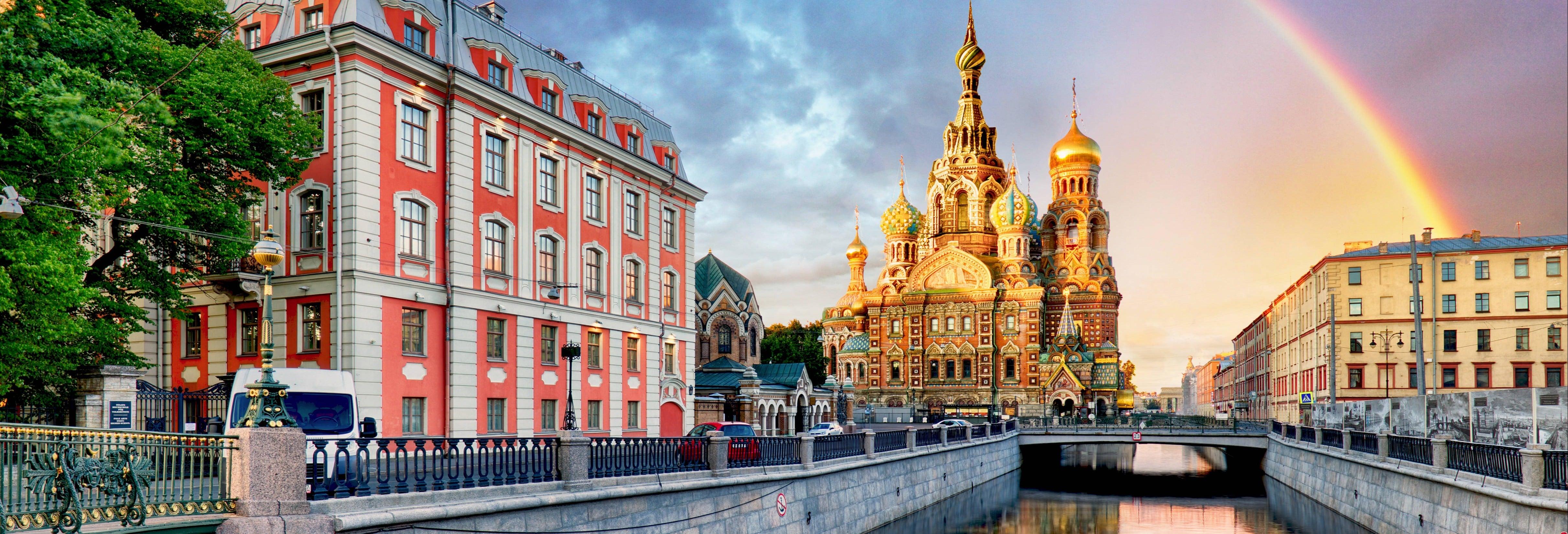 Circuit de 8 jours à Moscou et Saint-Pétersbourg