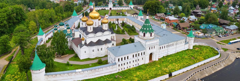 Circuito de 4 dias pelo Anel de Ouro russo