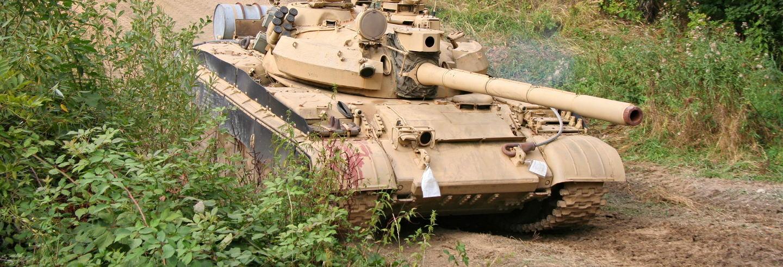 Esperienza di guida di carri armati russi