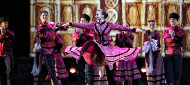 Russian National Dance Show Kostroma in Moscow