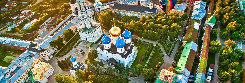 Excursão a Sergiev Posad + Sauna russa