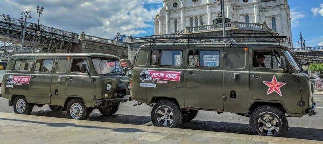 Tour en furgoneta soviética por Moscú