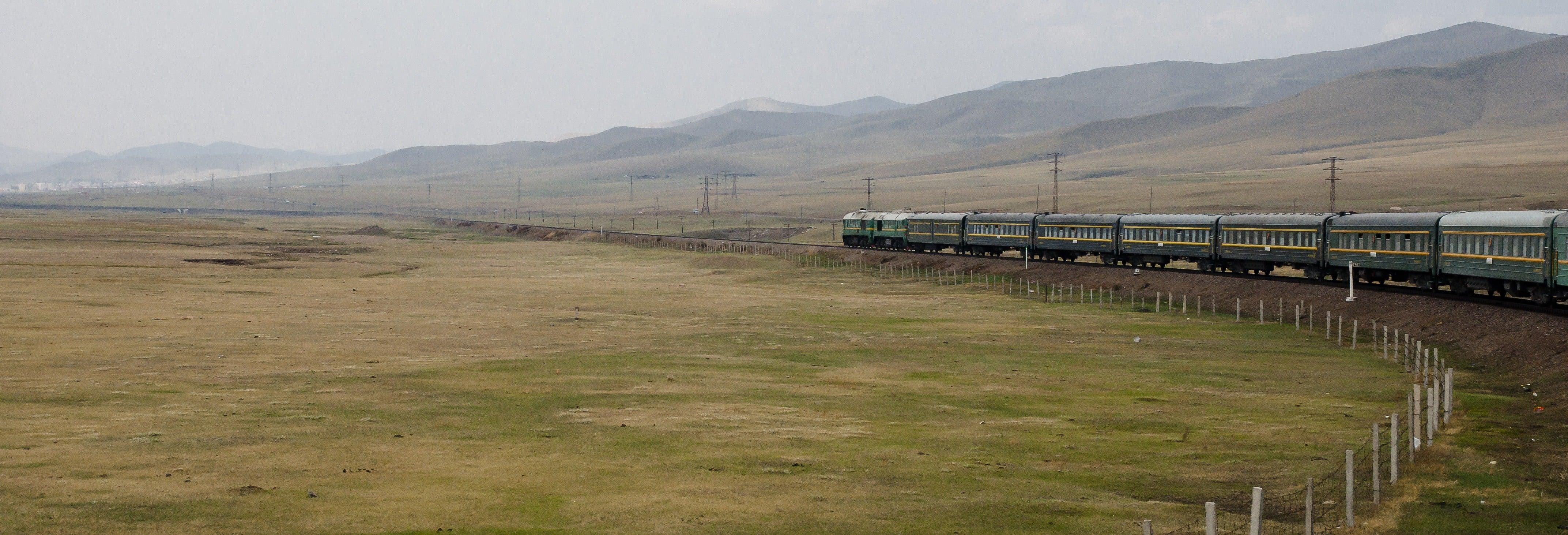 Transsibérien Moscou - Oulan-Bator