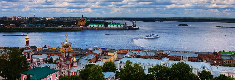 Paseo en barco por los ríos Volga y Oka