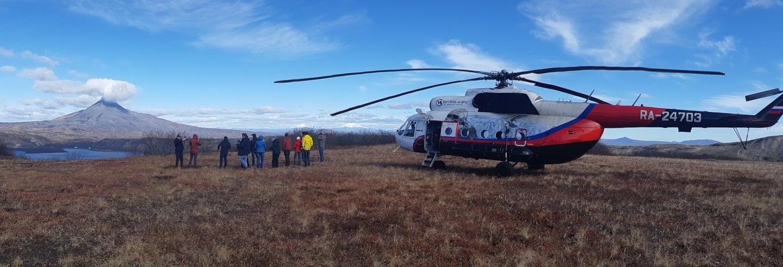 Excursión en helicóptero al Valle de los Géiseres