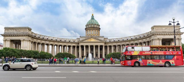 St Petersburg Hop-On Hop-Off Sightseeing Bus