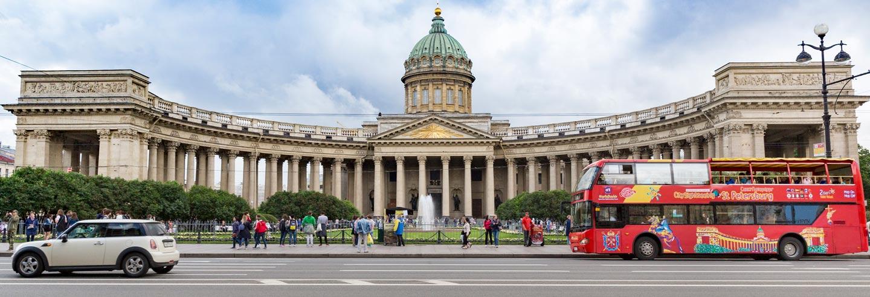 St Petersburg Hop-On Hop-Off Sightseeing Bus