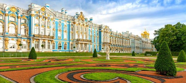 Excursión a Pushkin y el Palacio de Catalina