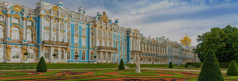 Excursão a Pushkin e ao Palácio de Catarina