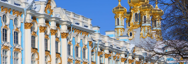 Excursión a Pushkin en tren
