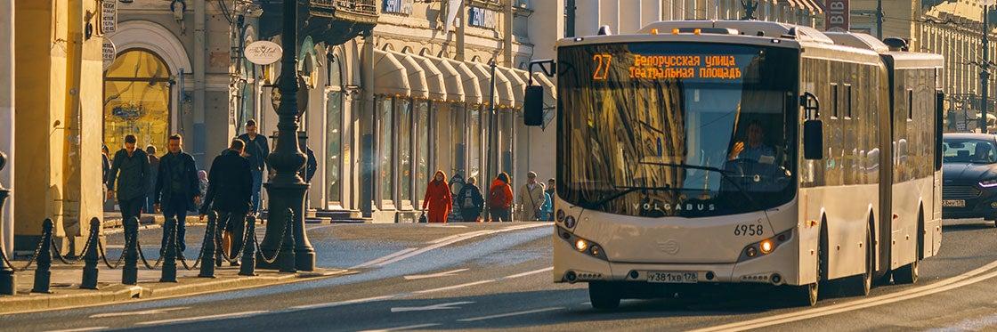 Buses in Saint Petersburg