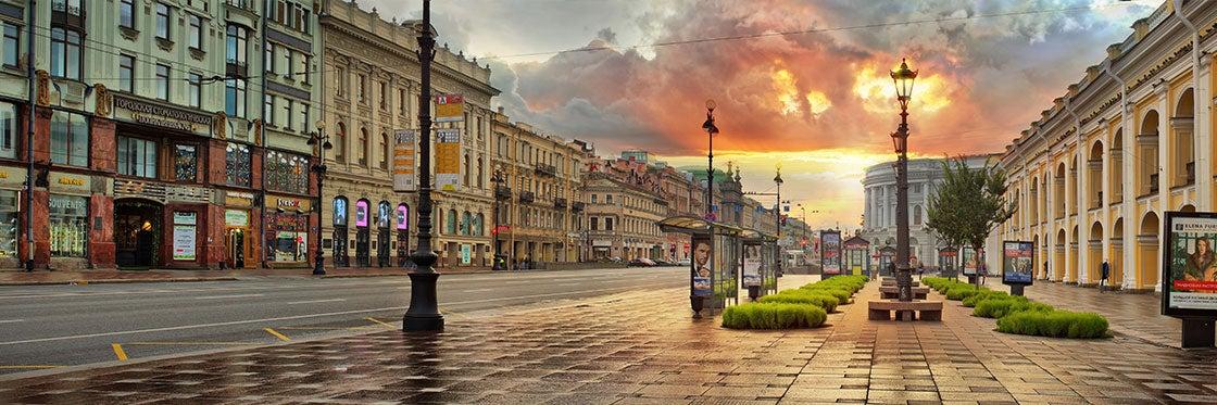 Prospettiva Nevskij di San Pietroburgo