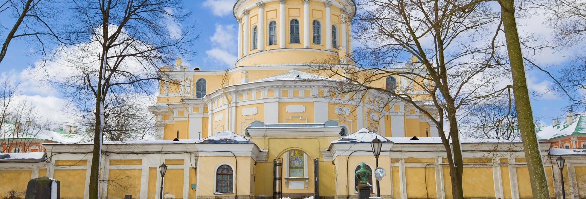 Tour del monastero di Aleksandr Nevskij e tomba di Dostoevskij
