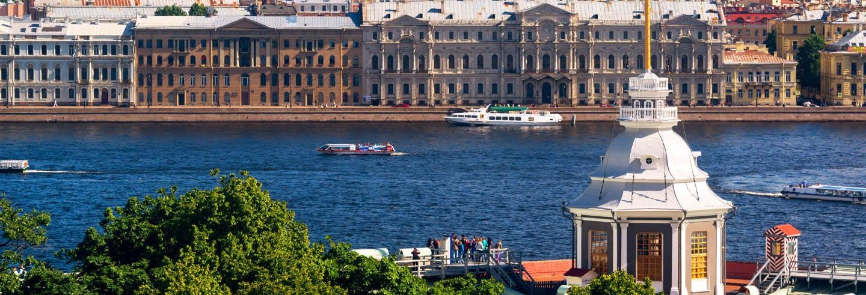 Paseo en barco por San Petersburgo