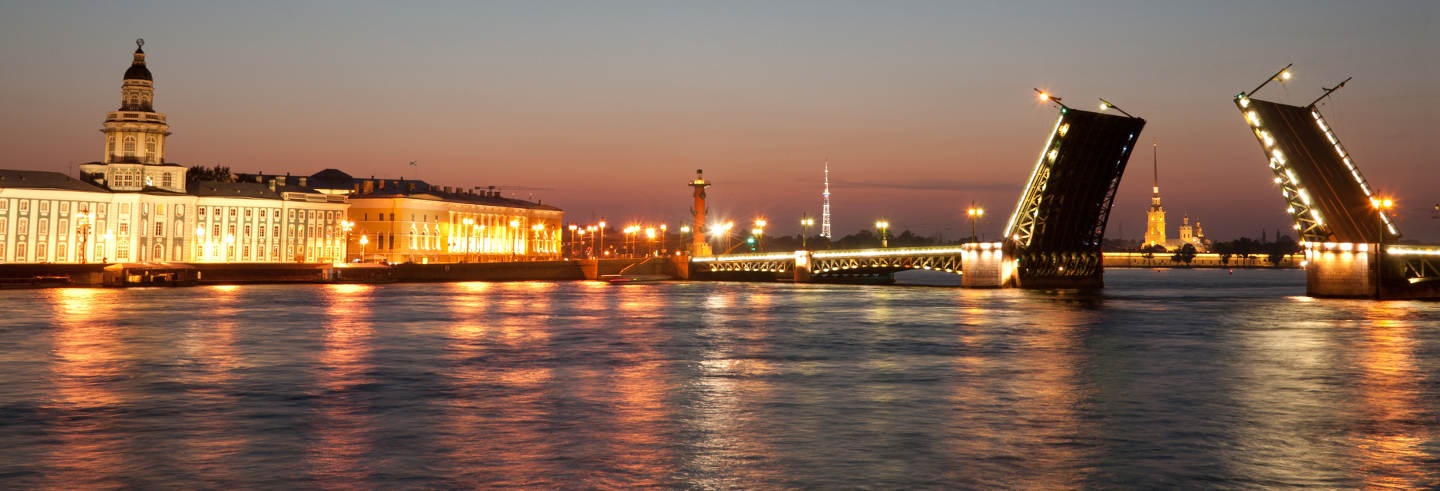 St Petersburg Midnight Boat Cruise