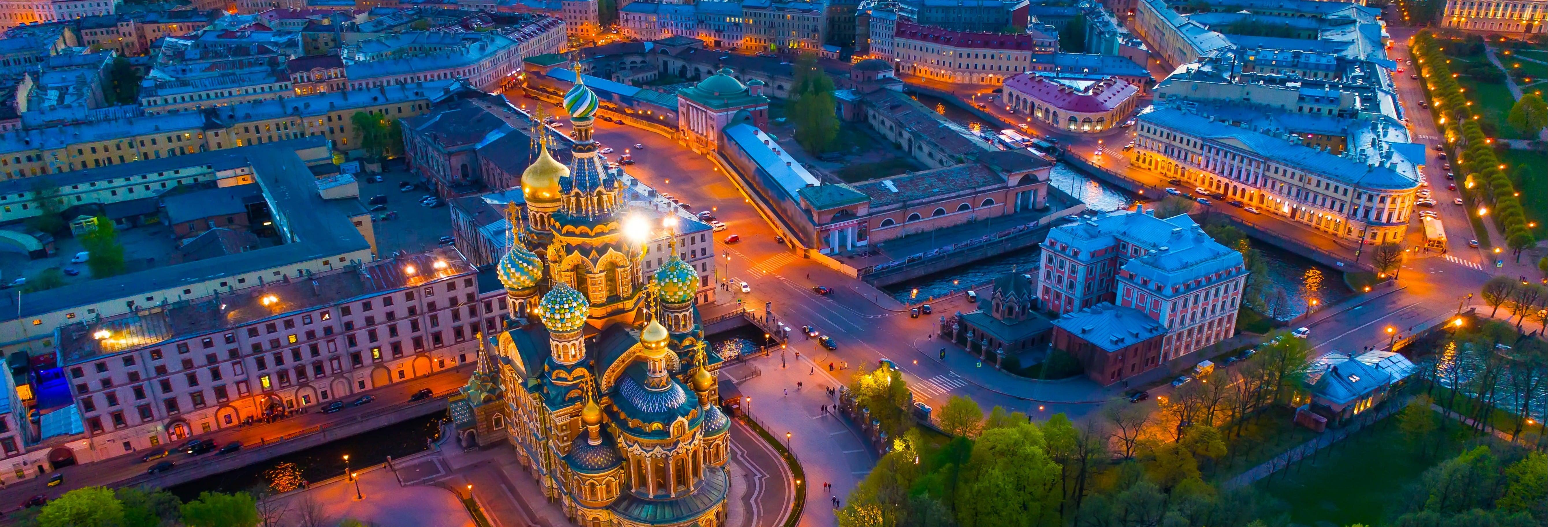 Tour nocturno por San Petersburgo