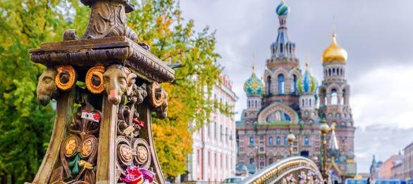 Tour por San Petersburgo al completo
