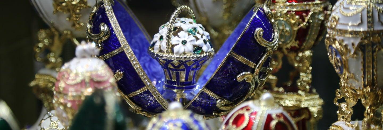 Visita guiada pelo Museu Fabergé