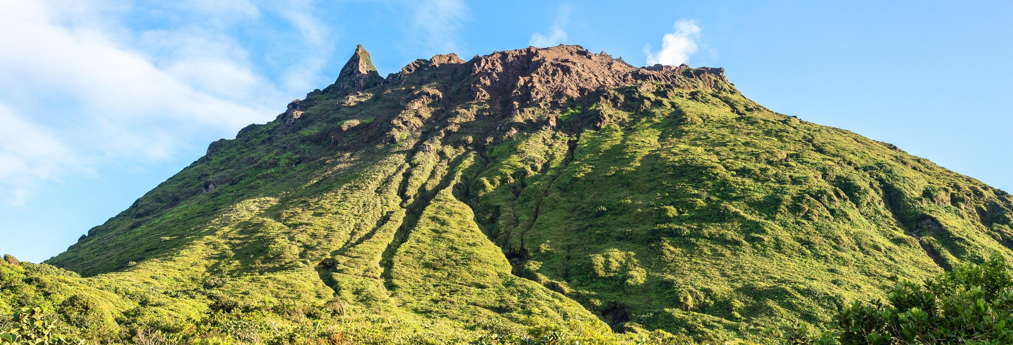 Excursión al volcán La Soufrière