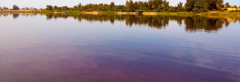 Excursão privada ao Lago Rosa