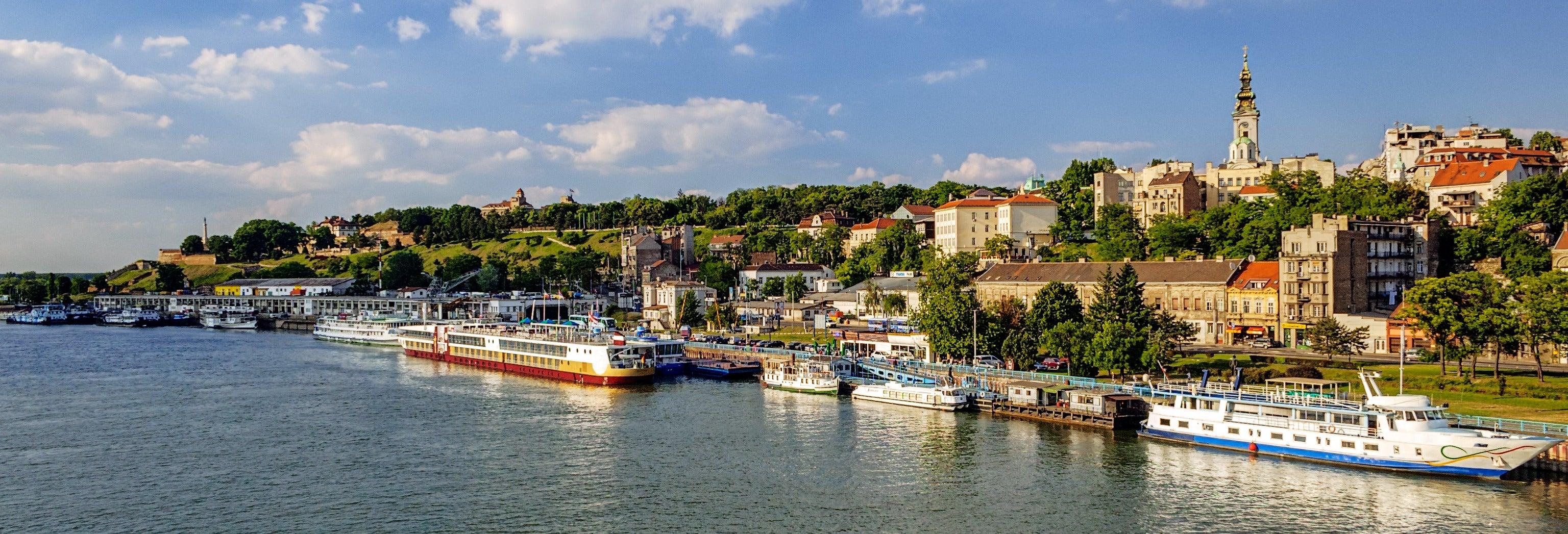 Paseo en barco por Belgrado