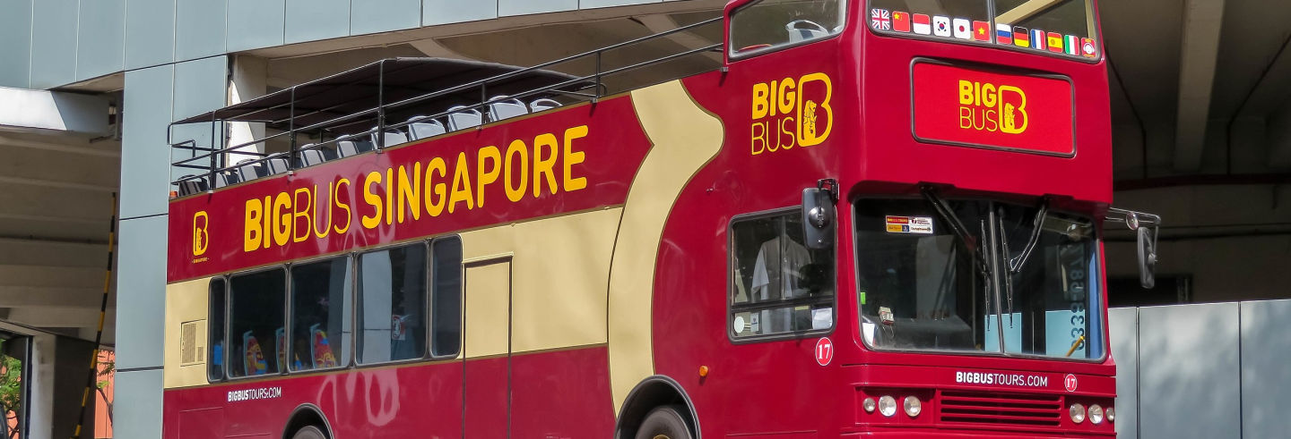 Autobus turistico di Singapore