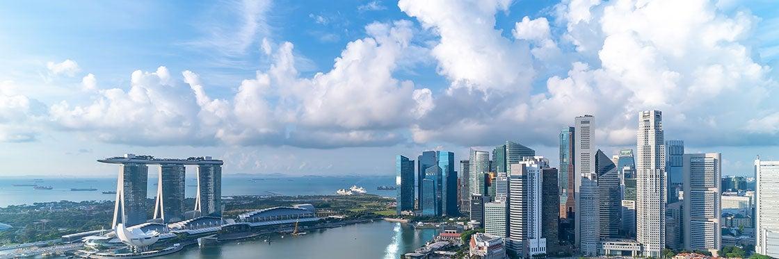 O tempo em Singapura