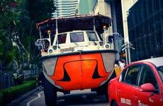 Tour en autobús anfibio por Singapur