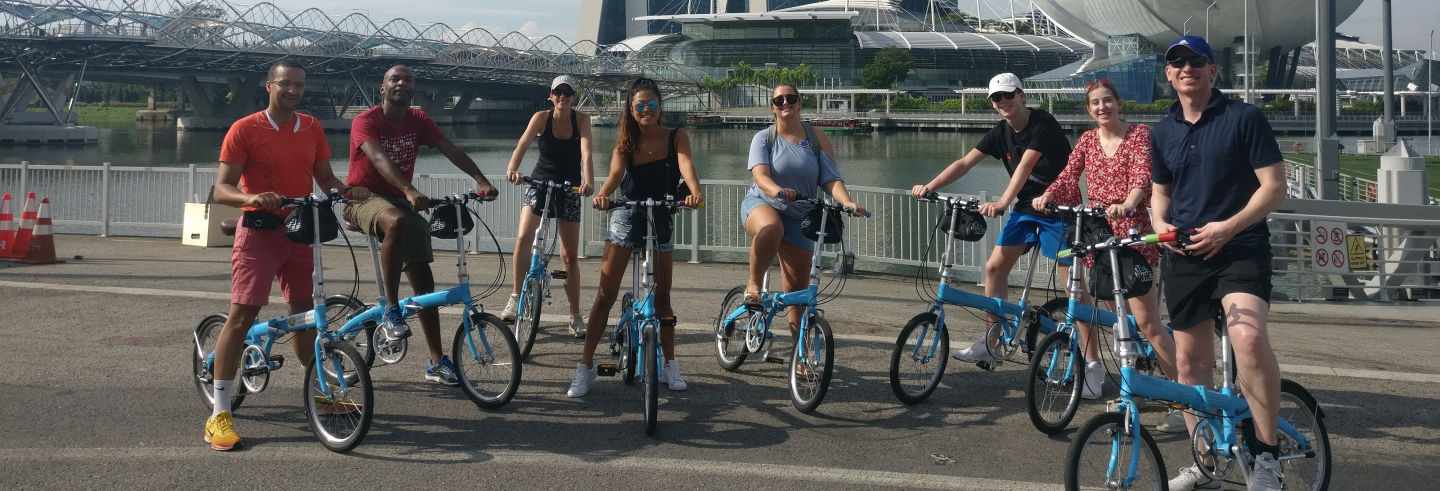 Tour di Singapore in bicicletta