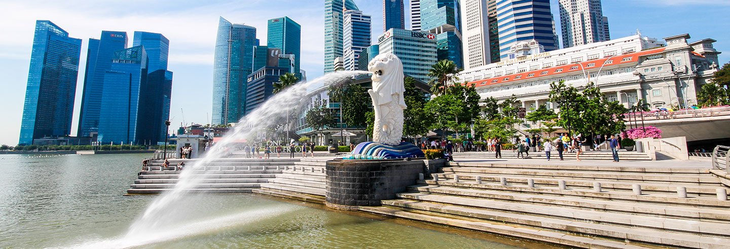 Guided tour of Singapore